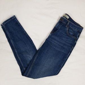 Topshop Lucas Moto Skinny Jeans 26